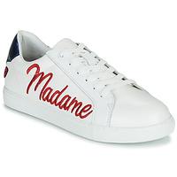 Sapatos Mulher Sapatilhas Bons baisers de Paname SIMONE MADAME MONSIEUR Branco