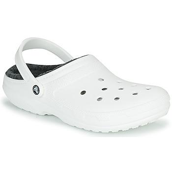 Sapatos Tamancos Crocs CLASSIC LINED CLOG Branco