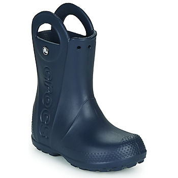 Sapatos Criança Botas de borracha Crocs HANDLE IT RAIN BOOT Navy