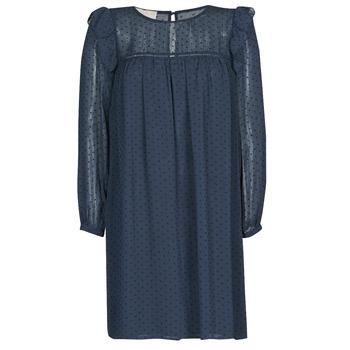 Textil Mulher Vestidos curtos Moony Mood NIORT Marinho