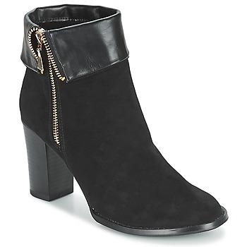 Sapatos Mulher Botins Moony Mood FRISETTE Preto