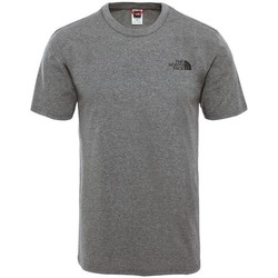 Textil Homem T-Shirt mangas curtas The North Face Simple Dome Cinzento