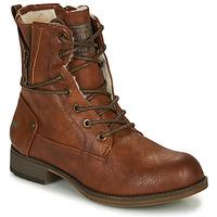 Sapatos Mulher Botas baixas Mustang  Conhaque