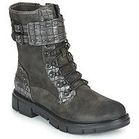Sapatos Mulher Botas baixas Mustang 1333507 Cinza