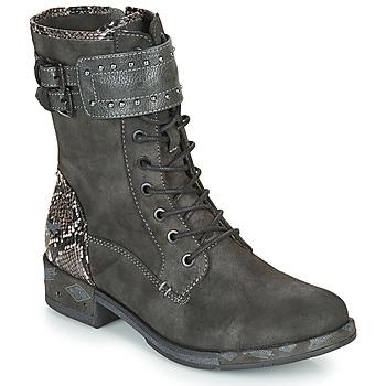 Sapatos Mulher Botas baixas Mustang 1332506 Cinza
