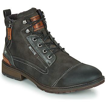 Sapatos Homem Botas baixas Mustang 4140504 Cinza