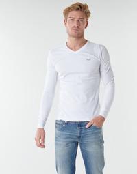 Textil Homem T-shirt mangas compridas Kaporal VIFT Preto-branco