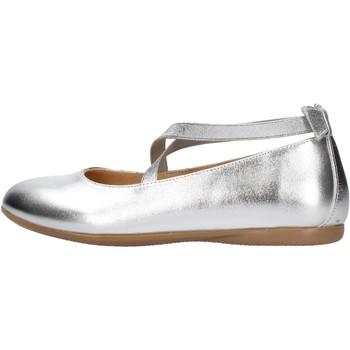 Sapatos Rapaz Sapatilhas Platis - Ballerina argento P2080-2 ARGENTO