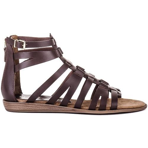 Sapatos Mulher Sandálias Unisa Sandálias Amelia_OL Castanho
