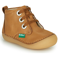 Sapatos Criança Botas baixas Kickers SONIZA Camel