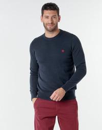 Textil Homem camisolas Timberland WILLIAMS RIVER CREW Marinho
