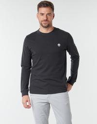 Textil Homem T-shirt mangas compridas Timberland LS Dunstan River Tee Preto