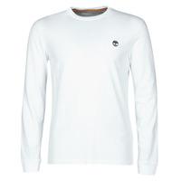 Textil Homem T-shirt mangas compridas Timberland LS Dunstan River Tee Branco