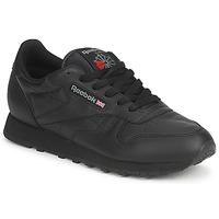 Sapatos Sapatilhas Reebok Classic CLASSIC LEATHER Preto
