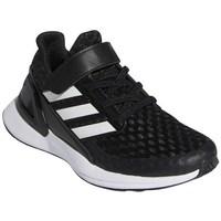 Sapatos Criança Sapatilhas de corrida adidas Originals Rapidarun Branco, Preto