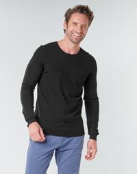 Textil Homem camisolas Teddy Smith POKI Preto