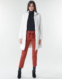 Textil Mulher Casacos Marciano MARBREE FUR COAT Creme
