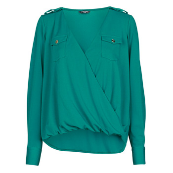 Textil Mulher Tops / Blusas Marciano SALLY CREPE TOP Verde