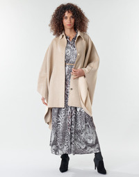 Textil Mulher Casacos Marciano LAURA CAPE Camel