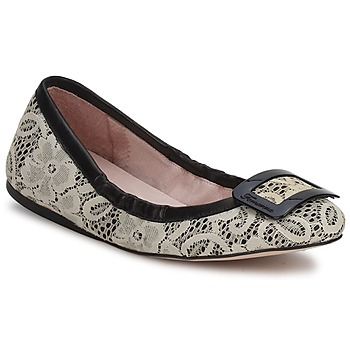 Sapatos Mulher Sabrinas Fornarina LYZA Preto / Branco / rosa