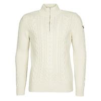 Textil Homem camisolas Schott PL BRUCE2 Cru
