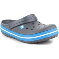 Sapatos Homem Chinelos Crocs Crocband  11016-07W grey