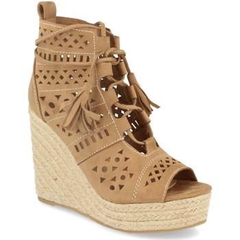 Sapatos Mulher Sandálias Buonarotti 1A-0005 Beige