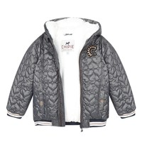 Textil Rapariga Jaquetas Chipie 8R41014-46 Cinza