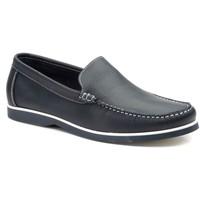 Sapatos Homem Sapato de vela Iberico Shoes Mocasin nautico de hombre de piel by Cbp Bleu
