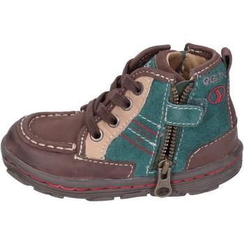 Sapatos Rapaz Sapatilhas Geox Sneakers BM400 Castanho