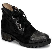 Sapatos Mulher Botas baixas Casta MANDA Preto