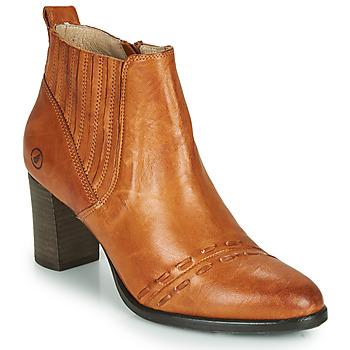 Sapatos Mulher Botins Casta SANTA Conhaque