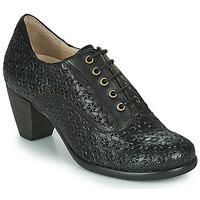 Sapatos Mulher Botas baixas Casta AGILA Preto