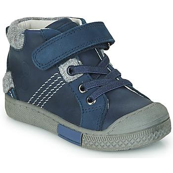 Sapatos Rapaz Sapatilhas de cano-alto Mod'8 HERY Marinho