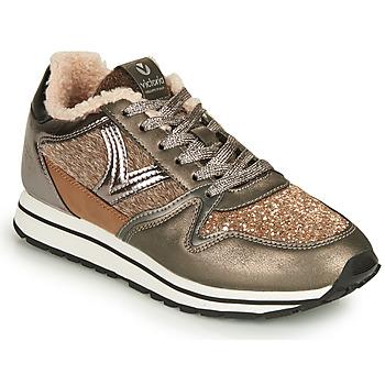 Sapatos Mulher Sapatilhas Victoria COMETA MULTI Castanho