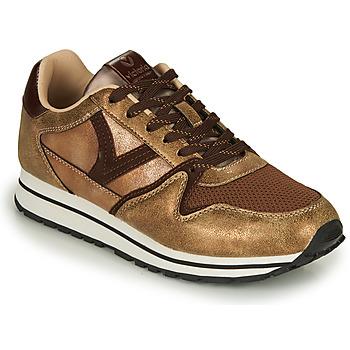 Sapatos Mulher Sapatilhas Victoria COMETA MULTI Bronze