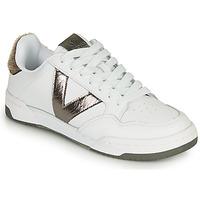 Sapatos Mulher Sapatilhas Victoria CRONO PIEL Branco / Bronze