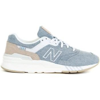 Sapatos Mulher Sapatilhas de corrida New Balance 997 Cinzento,Azul,Cor bege
