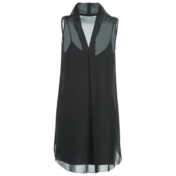 Textil Mulher Vestidos curtos Naf Naf E-LALY Preto