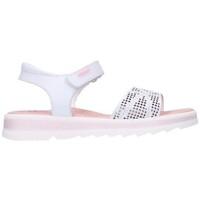 Sapatos Rapariga Sandálias Pablosky 477900 Niña Blanco blanc