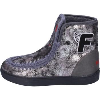 Sapatos Rapariga Botins Fiorucci BM419 Cinza