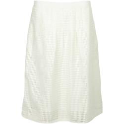 Textil Mulher Saias Paul Smith Jupe courte ajourée Branco