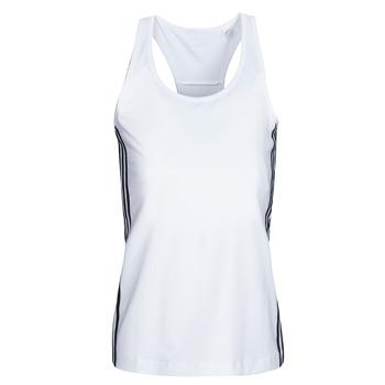 Textil Mulher Tops sem mangas adidas Performance W D2M 3S TANK Branco