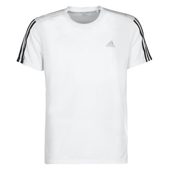 Textil Homem T-Shirt mangas curtas adidas Performance RUN IT TEE 3S M Branco