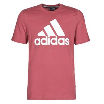 Textil Homem T-Shirt mangas curtas adidas Performance MH BOS Tee Vermelho / Heritage