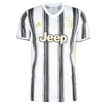 Textil T-Shirt mangas curtas adidas Performance JUVE H JSY Branco / Preto