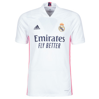 Textil T-Shirt mangas curtas adidas Performance REAL H JSY Branco
