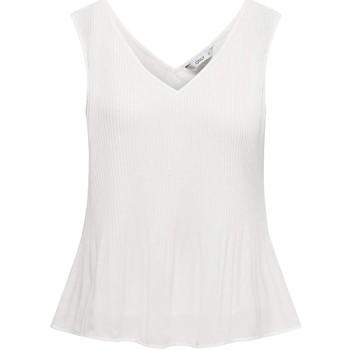 Textil T-shirts e Pólos Only ONLIRENA S/L TOP WVN blanco