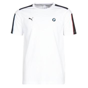 Textil Homem T-Shirt mangas curtas Puma BMW MMS MS T7 TEE Branco