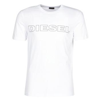 Textil Homem T-Shirt mangas curtas Diesel JAKE Branco